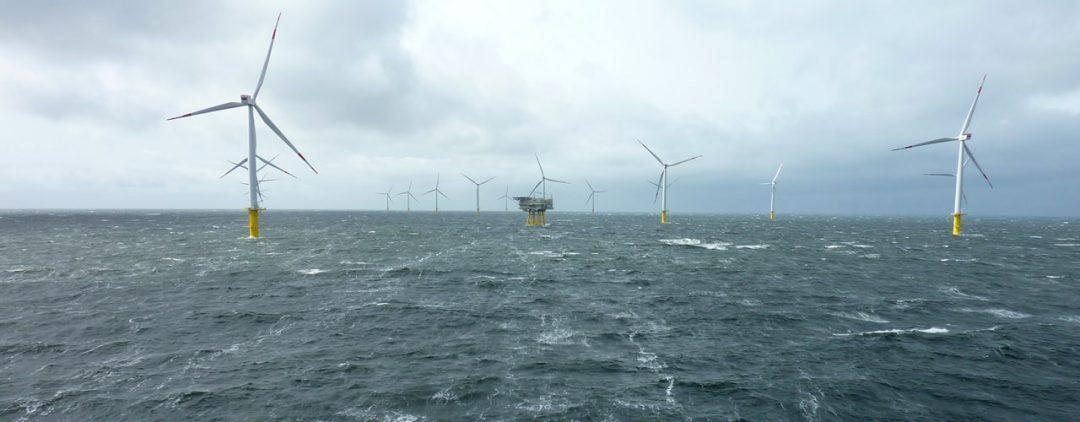 Offshore-Windpark Riffgat, Quelle: ENOVA Unternehmensgruppe, Author: Herr Rose